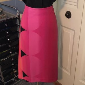 Worthington sz 12 fushia skirt